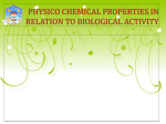 PHYSICo chemicaL PROPERTIES