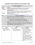 Formative Instructional and Assessment Tasks Trapezoids or