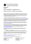 Application A1117 - Food Standards Australia New Zealand