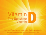 Vitamin D the Sunshine vitamin - Dr