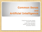 Common Sense and Artificial Intelliegence