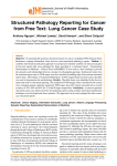 gdef Structured Pathology Reporting for Cancer from Free Text