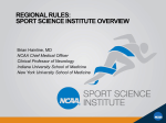 Sports Science Institute - Brown Bag