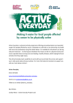 Active Everyday is a physical activity programme offering