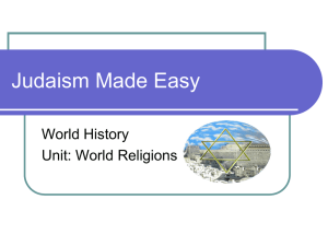 Judaism Made Easy