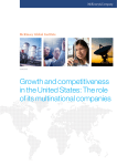 Growth and competitiveness in the United States: The