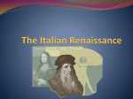 The Italian Renaissance - Tallmadge City Schools