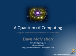 Overview of Quantum Computing