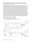 Bio-Organic Mechanism Game – Simplistic biochemical structures