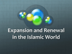 Expansion and Renewal in the Islamic World