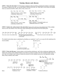 Naming Alkenes and Alkynes (rules)