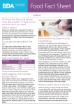 Iodine Food Fact Sheet - British Dietetic Association