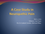 Case Study in Neuropathic Pain