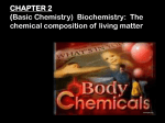 ATP Biochemistry: The Chemical Composition of Living Matter