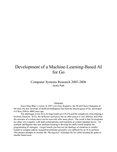 Development of a Machine-Learning