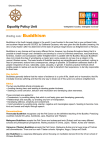 Buddhism - Equality Policy Unit
