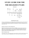 Wars of Religion