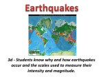 4. Earthquakes PPT