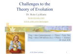 EvolutionChallenges.ppt - Open Systems Technology Associates
