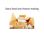 Dairy food and cheese making File