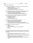Dalton`s Laws worksheet