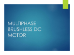 Multiphase Brushless DC Motor