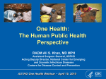 The Human Public Health Perspective
