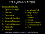 The Byzantine Empire - Moore Public Schools