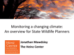 Monitoring a Changing Climate