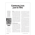 compiling java just in time - Department of Computer Science and