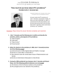 How much do you know about JFK`s presidency?