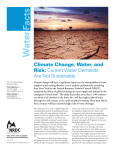 NRDC: Climate Change, Water, and Risk: Current Water Demands