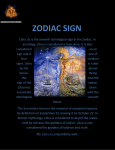 zodiac sign - The Journey Of My Life