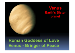 Venus Roman Goddess of Love Venus