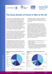 The Excess Burden of Cancer in Men in the UK (2009)