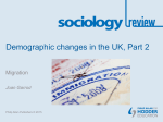 Demographic changes in the UK, Part 2: Migration