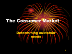 The Consumer Market Powerpoint