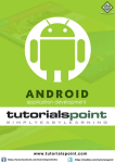 Android Tutorial (PDF Version)