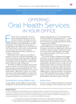 Oral Health Services - American Academy of Family Physicians