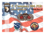 C Company 506th PIR - 506th Airborne Infantry Regiment