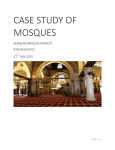 CASE STUDY OF MOSQUES - Department of Real Estate and