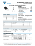 VS-80APS16PbF, VS-80APS16-M3 High Voltage, Input Rectifier