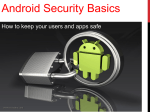 Android Security Basics