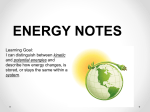 Energy Statement PPT