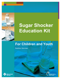 Sugar Shocker Education Kit