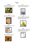 Food Group Puzzle