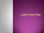 Liver Function - Groby Bio Page