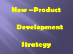 Product Development Strategy New Product