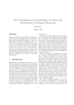 CP1: Investigation into the Feasibility of a Three Axis