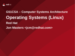 Operating Systems (Linux), 27/10/08